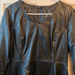 Dresses & Skirts - Genuine Leather dress size Large
